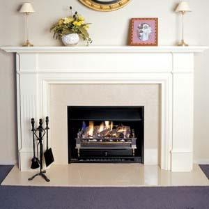 fireplace in Dublin 16 by Plumbing Rathfarnham
